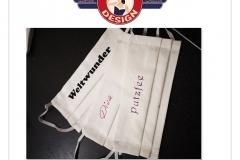 Corona Mundschutz bedruckt und personalisiert