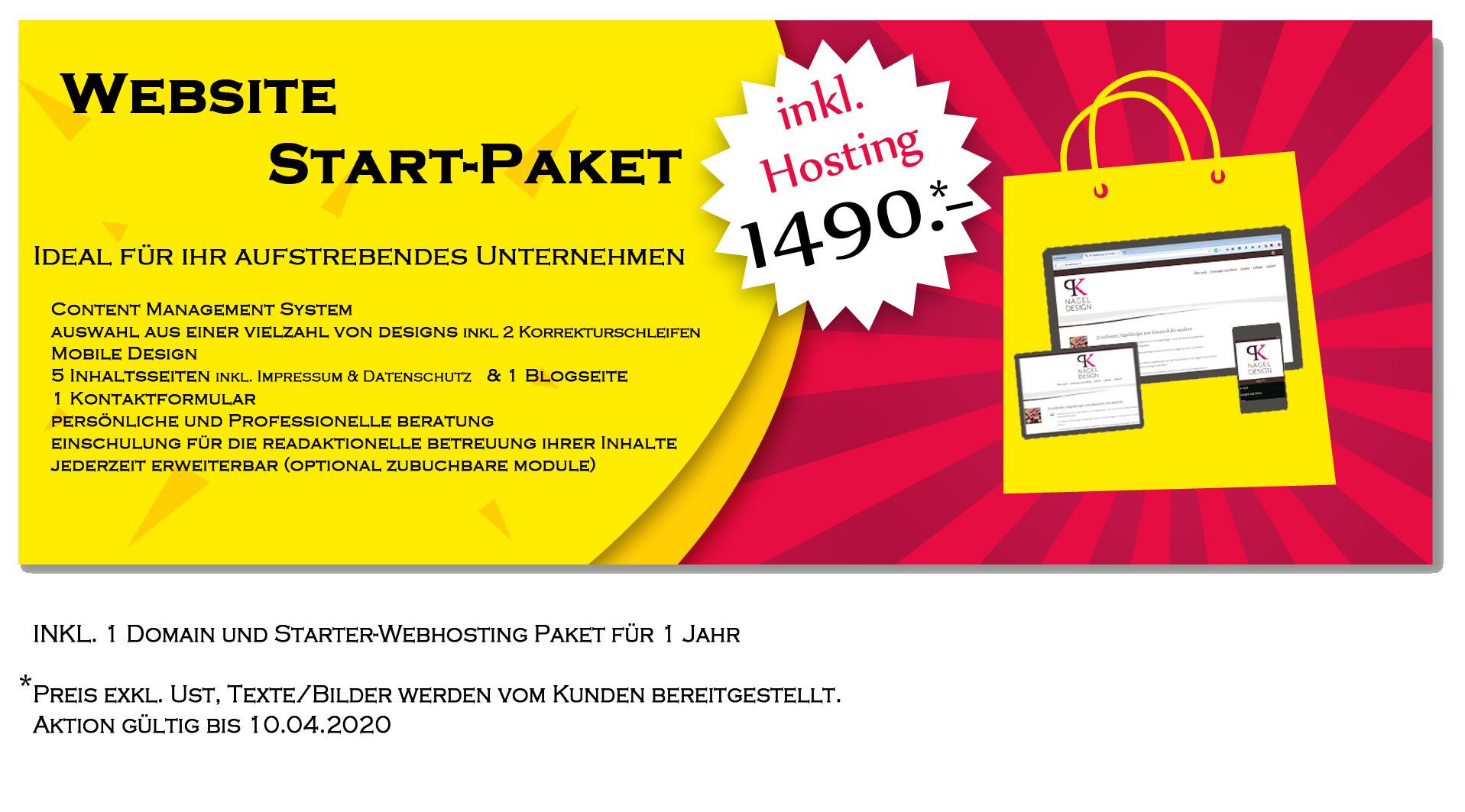 Website zum Fixpreis Starter Set